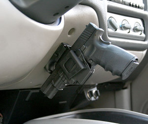 gun and car image