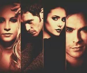 ian somerhalder, the vampire diaries, and elena gilbert image