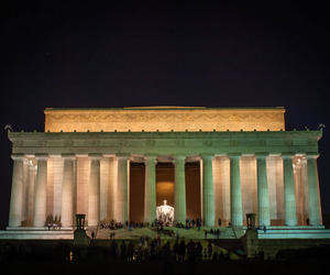 DC, lincoln, and Lincoln Memorial image