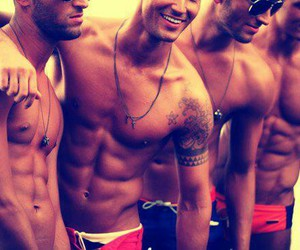 abs, boys, and hotties image