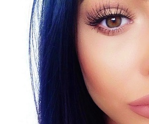 kylie jenner, makeup, and eyes image