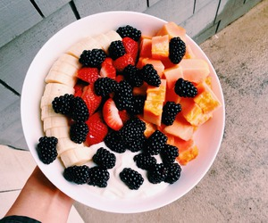 fruit, food, and healthy image