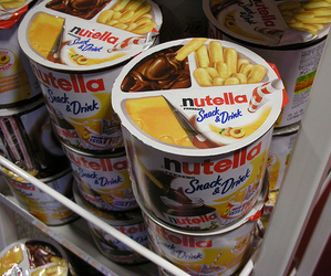 nutella, food, and snack image