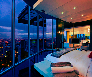 city, luxury, and bedroom image