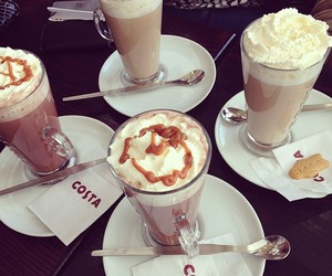 coffee, costa, and delicious image