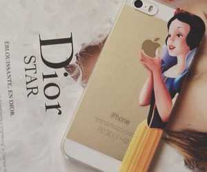 iphone, snow white, and case image