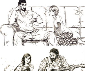 daughter, guitar, and tlou image