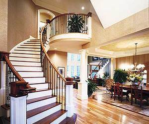 interior, stairs, and house image