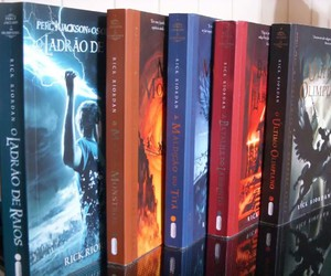 percy jackson, sagas, and love image
