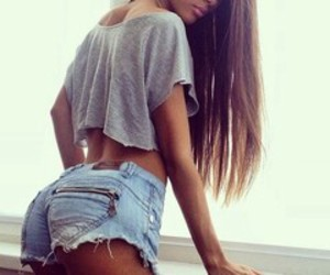 chicas, jorts, and cool image