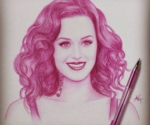 katy perry, drawing, and draw image