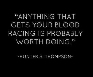 quote, blood, and life image
