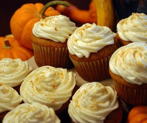 cupcakes and pumpkins image