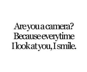 smile, camera, and love image