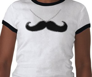 black, mustache, and tshirts image