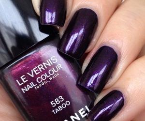 chanel, girl, and nail polish image
