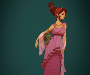 disney, hercules, and megara image