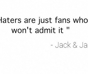 doing it right, fans, and haters image
