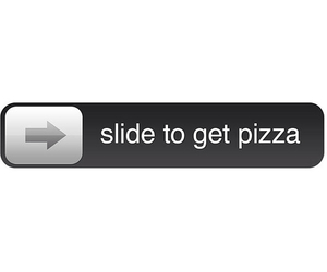 pizza, food, and slide image