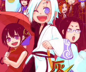 anime, cross over, and d.gray-man image
