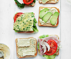 bread, cheese, and food image