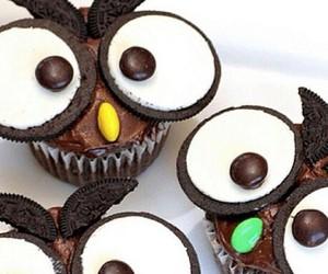cupcake, eyes, and food image