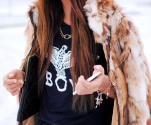 fashion, girl, and boy image