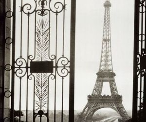 eiffel, street, and france image