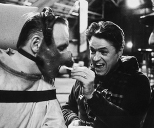 behind the scenes, hannibal lecter, and anthony hopkins image