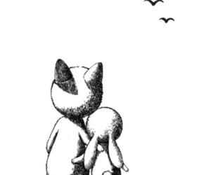 fox, rabbit, and bunny image