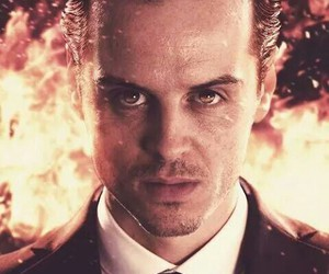 sherlock, moriarty, and jim moriarty image