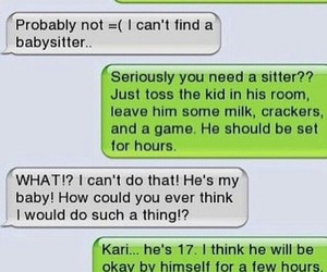 funny, englisch, and comedytexting image