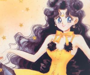 luna, manga, and sailor moon image