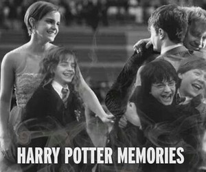 harry potter, hermione granger, and memories image