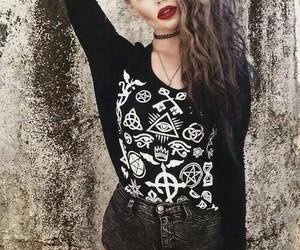 goth, grunge, and pastel goth image