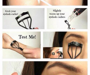 makeup, diy, and eyelashes image