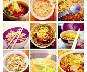 ramen, south korea, and korean food image