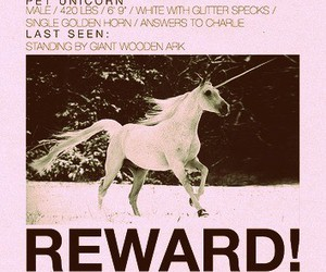 unicorn, lost, and black and white image