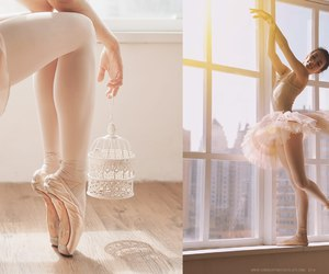 ballet, dancer, and beauty image