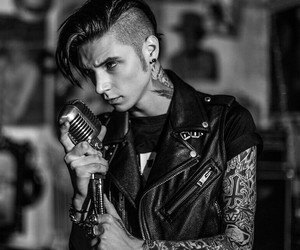 emo, andy biersack, and andy black image
