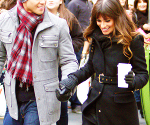 glee, rachel berry, and brochel image