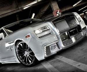 car, rolls royce, and luxury cars image