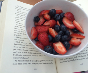 berries, book, and love image