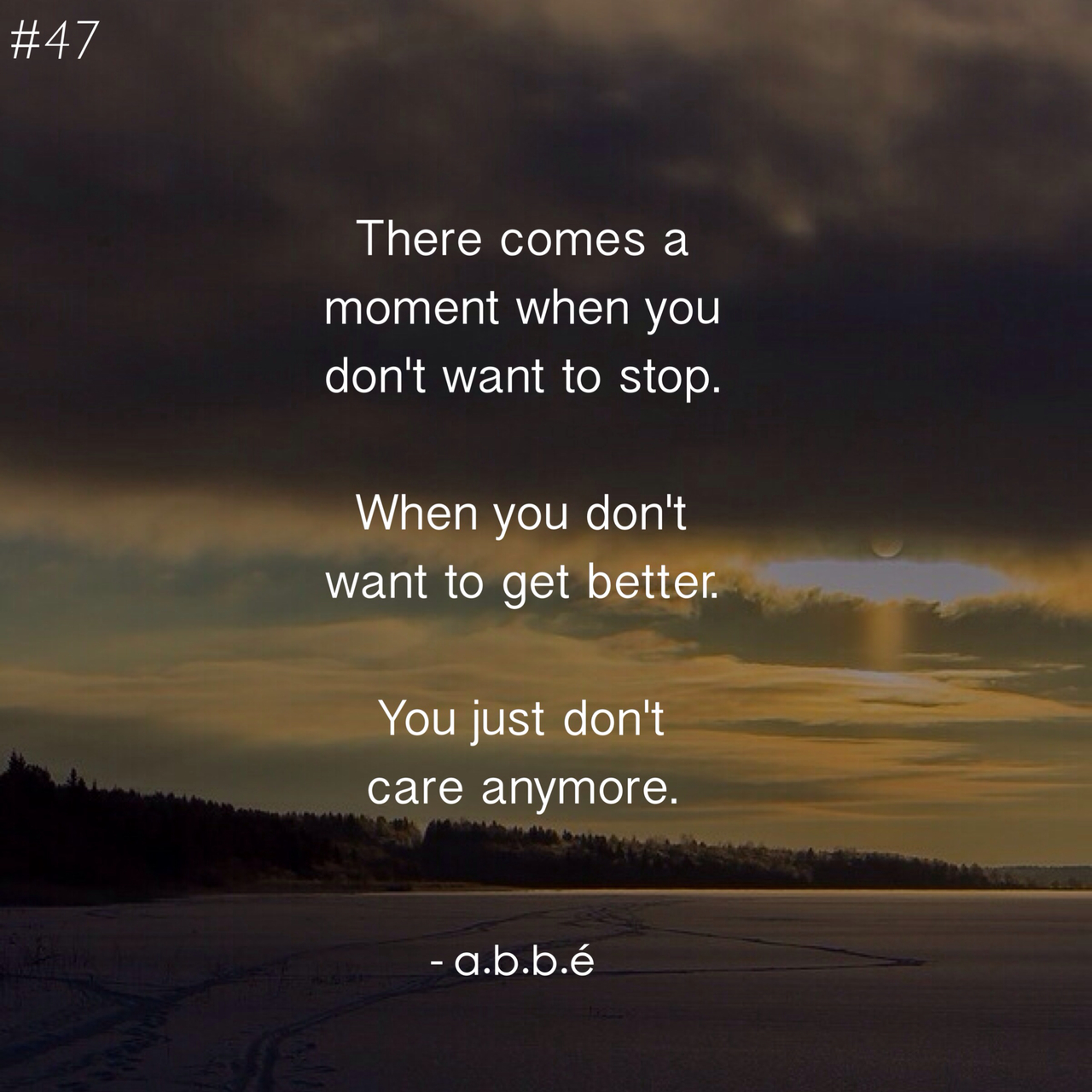 You just don\'t care anymore.. on We Heart It