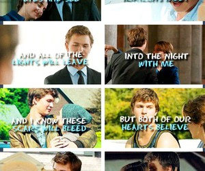 quote, ed sheeran, and the fault in our stars image