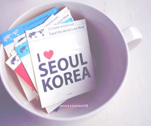 seoul, korea, and love image