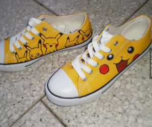 pikachu, pokemon, and converse image