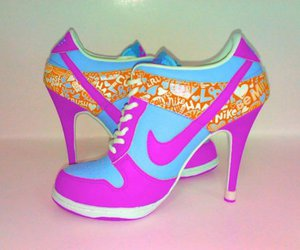 nike, shoes, and heels image
