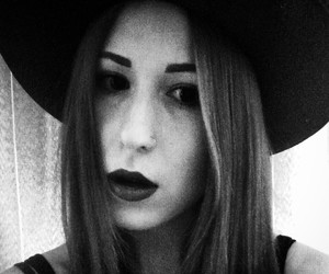 black, lips, and coven image