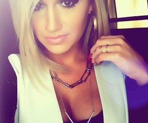 blonde, classy, and haircut image